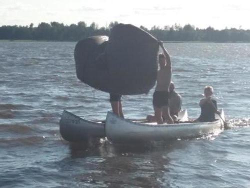 Segeln mit Kanus